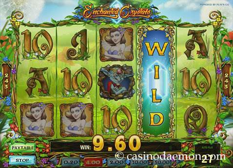 Enchanted Crystals slot screenshot 1