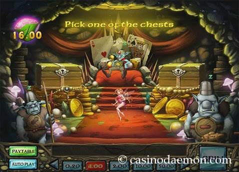 Enchanted Crystals slot screenshot 3