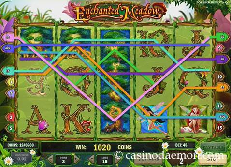 Enchanted Meadow slot screenshot 1