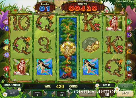 Enchanted Meadow slot screenshot 2