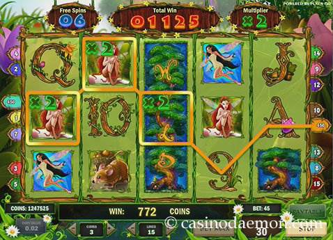 Enchanted Meadow slot screenshot 3
