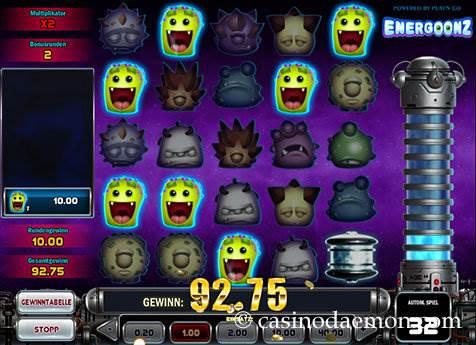 Energoonz Spielautomat screenshot 3