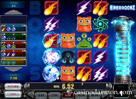 Energoonz slot screenshot 1