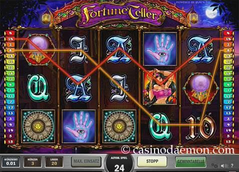 Fortune Teller Spielautomat screenshot 1