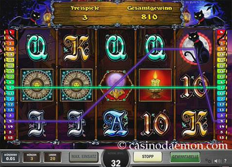 Fortune Teller Spielautomat screenshot 3