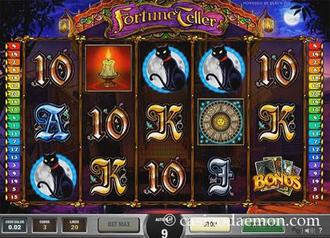 Fortune Teller slot screenshot 1