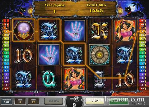 Fortune Teller slot screenshot 2