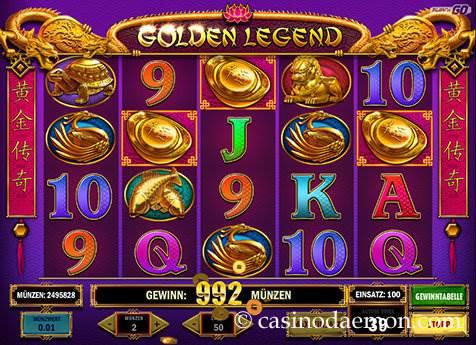 Golden Legend Spielautomat screenshot 2