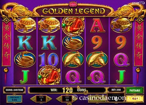 Golden Legend slot screenshot 1