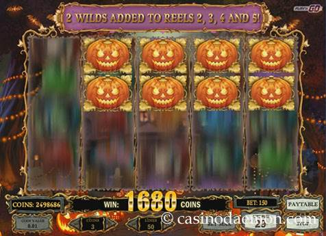 Happy Halloween slot screenshot 3