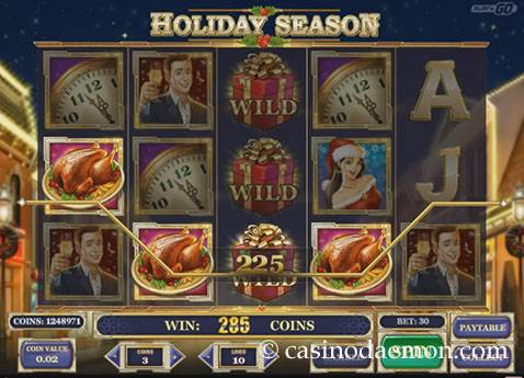 Holiday Season slot screenshot 1