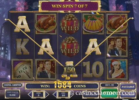 Holiday Season slot screenshot 2