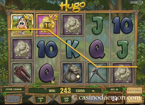 Hugo slot screenshot 1