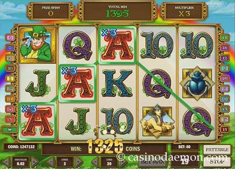 Leprechaun Goes Egypt Spielautomat screenshot 2