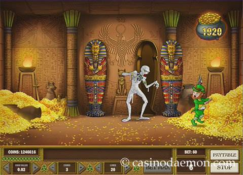Leprechaun Goes Egypt Spielautomat screenshot 3