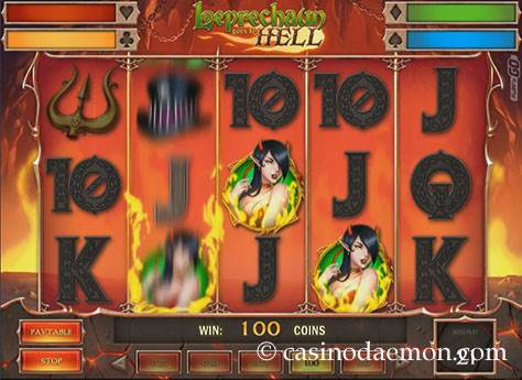 Leprechaun Goes To Hell Spielautomat screenshot 1