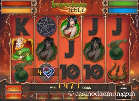 Leprechaun Goes to Hell slot screenshot 2