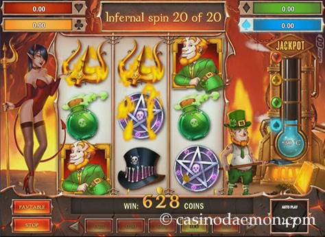 Leprechaun Goes To Hell Spielautomat screenshot 3