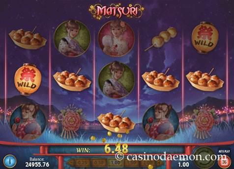 Matsuri slot screenshot 1