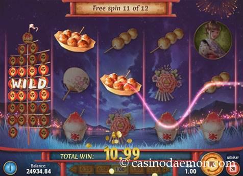 Matsuri slot screenshot 2