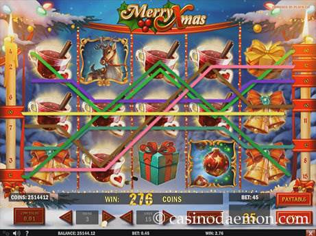 Merry Xmas slot screenshot 1