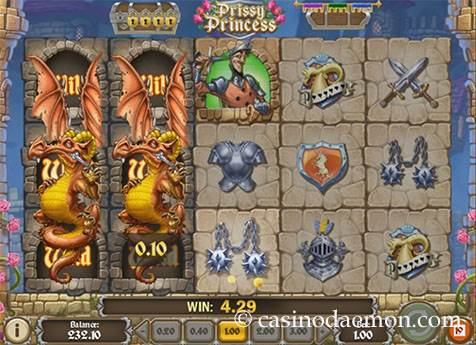 Prissy Princess slot screenshot 2