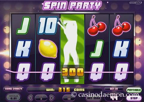 Spin Party slot screenshot 3