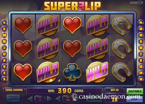 Super Flip slot screenshot 1