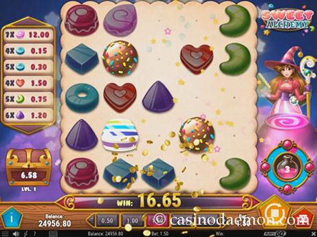 Sweet Alchemy slot screenshot 1