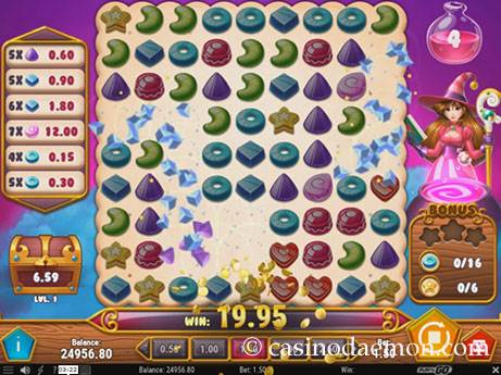 Sweet Alchemy slot screenshot 2