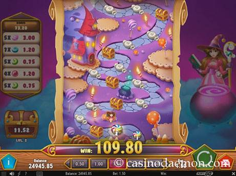Sweet Alchemy slot screenshot 3