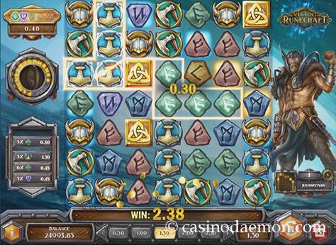 Viking Runecraft Spielautomat screenshot 1