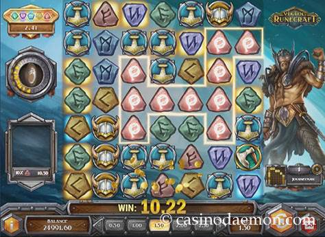Viking Runecraft Spielautomat screenshot 2