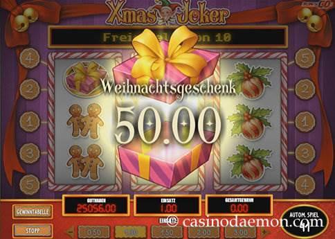 Xmas Joker Spielautomat screenshot 2