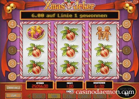 Xmas Joker Spielautomat screenshot 3