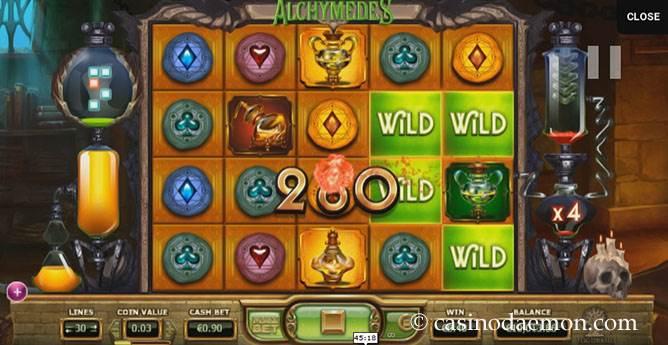 Alchymedes slot screenshot 2