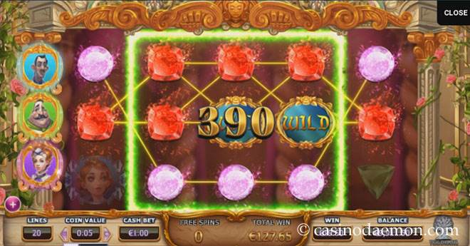 Beauty & The Beast Spielautomat screenshot 2