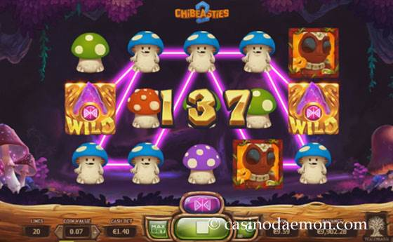 Chibeasties 2 Spielautomat screenshot 3