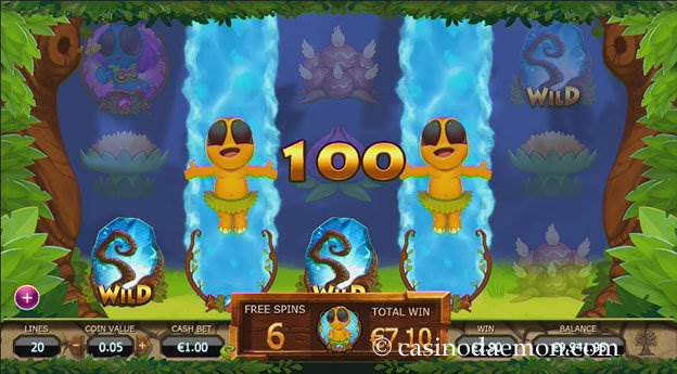 Chibeasties slot screenshot 2