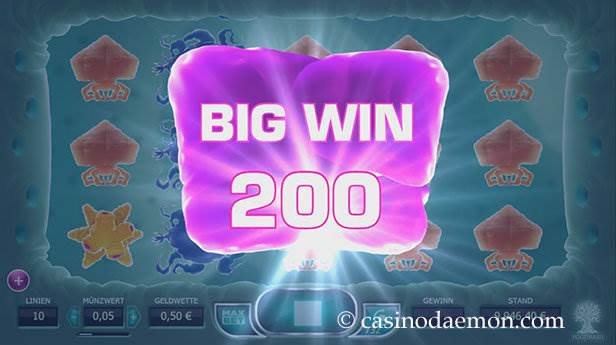 Cyrus the Virus Spielautomat screenshot 3