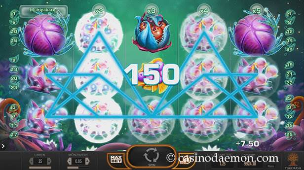 Fruitoids Spielautomat screenshot 1