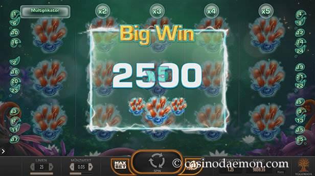 Fruitoids Spielautomat screenshot 2