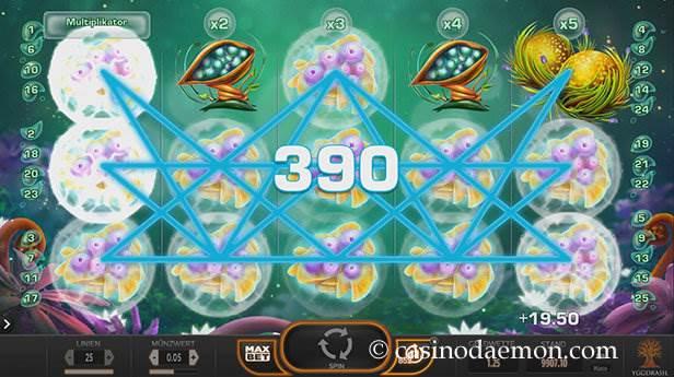Fruitoids Spielautomat screenshot 3