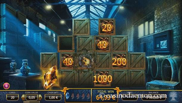 Holmes and the Stolen Stones slot screenshot 3