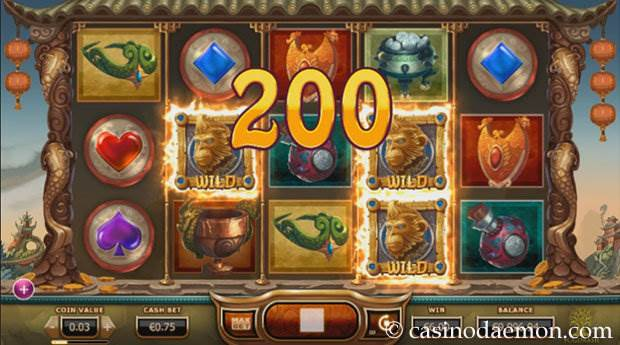 Legend of the Golden Monkey Spielautomat screenshot 1
