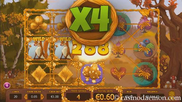 Seasons slot screenshot 2