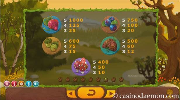 Seasons slot screenshot 4