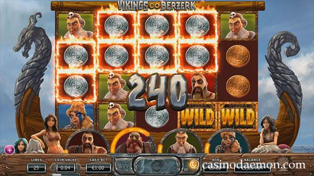 Vikings Go Berzerk Spielautomat screenshot 1