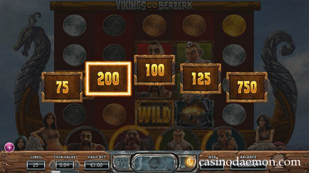 Vikings Go Berzerk Spielautomat screenshot 3
