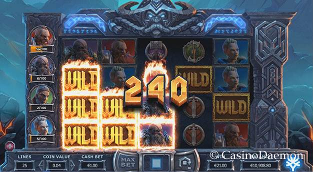Vikings Go To Hell slot screenshot 1